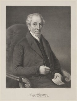 George Stratton, by George B. Black, printed by  Joseph Netherclift, after  W.R. Walter - NPG D42088