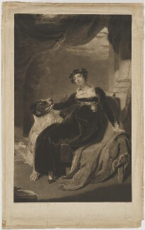 Anne Stratton (née D'Ewes), by and published by Charles Turner, after  Sir Thomas Lawrence - NPG D42089
