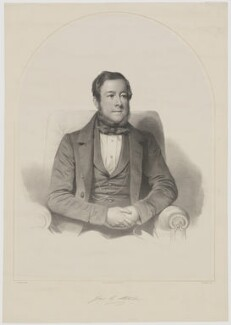 James C. Strode, by John Robert Dicksee, printed by  M & N Hanhart, after  Thomas Francis Dicksee - NPG D42091