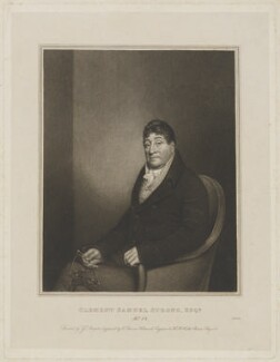 Clement Samuel Strong, by Edward Scriven, after  George Sharples - NPG D42092