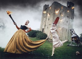 Alexander McQueen; Isabella Blow, by David LaChapelle - NPG P1403