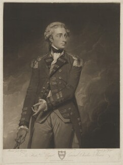 Sir Charles Stuart, by and published by Joseph Grozer, sold by  Colnaghi & Co, sold by  John Brydon, after  George Romney - NPG D42097