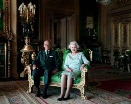 Prince Philip, Duke of Edinburgh and Queen Elizabeth II, by Thomas Struth, 7 April 2011 - NPG  - © Thomas Struth, 2011