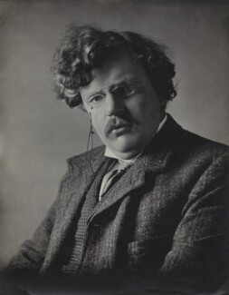 G.K. Chesterton, by E.H. Mills - NPG x134952