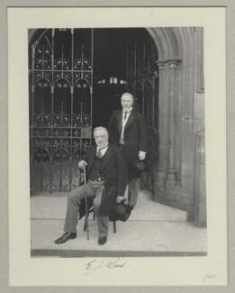 Sir Edward James Reed; Edward Tennyson Reed, by Benjamin Stone - NPG x134990