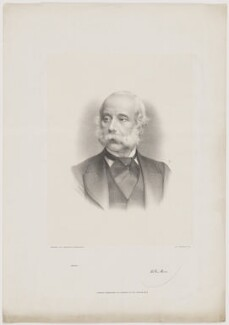 William Stuart Jr, by and published by Morris & Co - NPG D42102