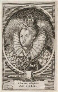 Queen Elizabeth I, by Johann Alexander Böner, after  Jacob Loots (Loets) - NPG D42189