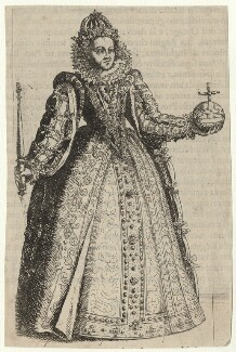 Queen Elizabeth I, after Unknown artist - NPG D42190