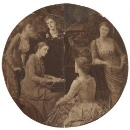 'Five daughters of Jane Stuart-Wortley', after Mary Caroline Milbanke (née Stuart-Wortley), Countess Lovelace - NPG D42108