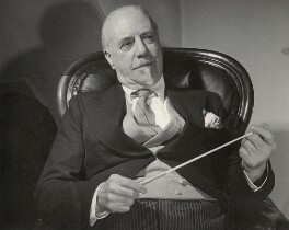 Sir Thomas Beecham, 2nd Bt, by Douglas Glass - NPG x134993