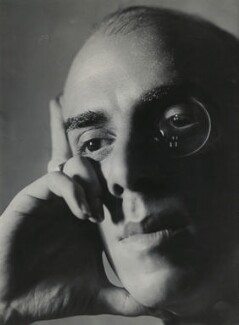 Cyril Des Baux, by Ida Kar - NPG x134994
