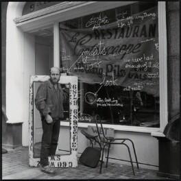 Gustav Metzger, by Ida Kar - NPG x134995