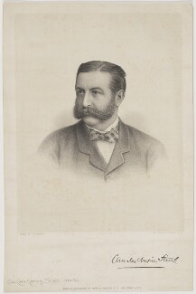 Charles Napier Sturt, by Charles William Walton, published by  Morris, Walton & Co - NPG D42110