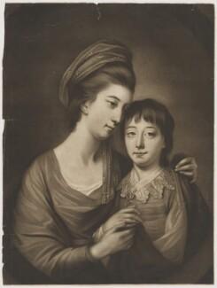 Mary Sturt; Humphrey Ashley Sturt, by James Watson, after  Katharine Read - NPG D42111
