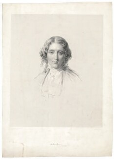 Harriet Beecher Stowe, by Francis Holl, after  George Richmond - NPG D42120