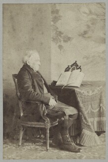 Called John Bird Sumner, by John Jabez Edwin Mayall - NPG x38888