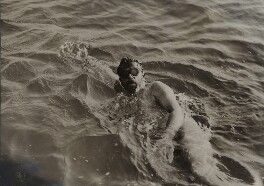 Thomas William Burgess swimming the Channel, by Illustrations Bureau - NPG x134961