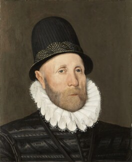 Oliver St John, 1st Baron St John of Bletso, by Arnold Bronckorst, 1578 - NPG 6919 - © National Portrait Gallery, London