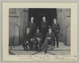 'Lunch Party, House of Commons', by Sir (John) Benjamin Stone, 24 March 1908 - NPG x135009 - © National Portrait Gallery, London