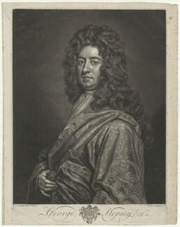 George Stepney, by John Faber Jr, after  Sir Godfrey Kneller, Bt - NPG D42128