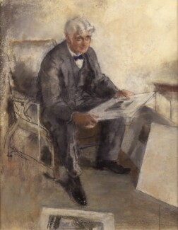 Alfred William Rich, by Henry Tonks, 1917 -NPG 4200 - © National Portrait Gallery, London