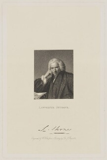 Laurence Sterne, by William Holl Sr, after  Sir Joshua Reynolds, (1760) - NPG D42129 - © National Portrait Gallery, London