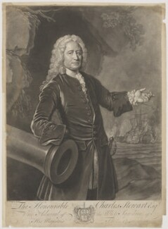 Charles Stewart, by John Faber Jr, after  Allan Ramsay - NPG D42137