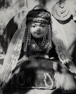 'Doll dressed in Armenian costume', by Ida Kar - NPG x135022