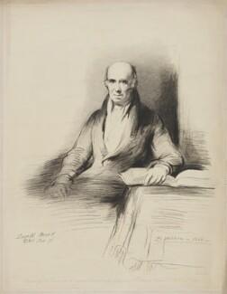 Dugald Stewart, by Samuel Cousins, after  Sir David Wilkie - NPG D42140
