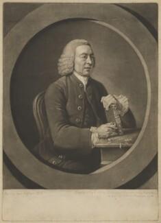 Benjamin Stillingfleet, by Valentine Green, after  Johan Joseph Zoffany - NPG D42145