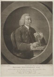 Benjamin Stillingfleet, by Valentine Green, after  Johan Joseph Zoffany - NPG D42146