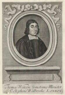 Thomas Watson, by John Sturt, after  Unknown artist - NPG D42198