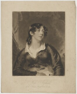 Catherine Stephens, Countess of Essex, by Henry Meyer, published by  Abraham Wivell, after  George Henry Harlow - NPG D42154