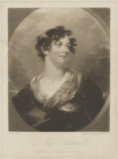 Catherine Stephens, Countess of Essex, by William Say, published by  Edward Orme, after  George Henry Harlow - NPG D42155