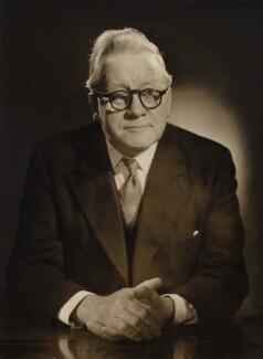 Herbert Stanley Morrison, Baron Morrison of Lambeth, by Baron (Sterling Henry Nahum) - NPG x135065