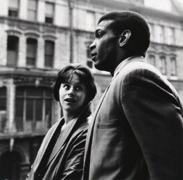 Rita Tushingham; Paul Danquah, by Sandra Lousada - NPG x135067