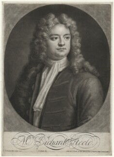 Sir Richard Steele, by and sold by John Smith, after  Jonathan Richardson - NPG D42159