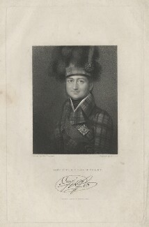 James Duff, 4th Earl of Fife, by William Holl Sr, published by  Fisher Son & Co, after  François Theodore Rochard, published 1830 - NPG D41888 - © National Portrait Gallery, London
