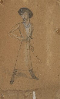 James Abbott McNeill Whistler, by Sir Leslie Ward - NPG 1700a
