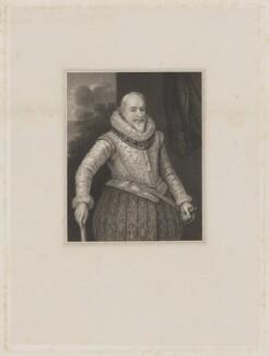 George Carew, Earl of Totnes, by John Henry Robinson, after  Unknown artist - NPG D41892