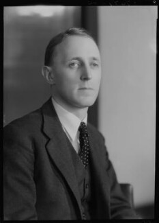 Sir Noel Frederick Hall, by Bassano Ltd - NPG x177912