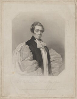 Henry Phillpotts, by Joseph Brown, printed by  Wilkinson & Dawe, published by  R. Ryley, published by  James Fraser, published by  Sir Francis Graham Moon, 1st Bt, after  Frederick Cruickshank - NPG D41895