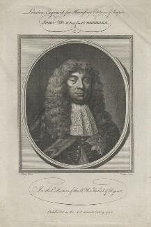 John Maitland, Duke of Lauderdale, by John Goldar, after  Sir Peter Lely - NPG D41898