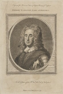 George Hamilton, 1st Earl of Orkney, probably by Isaac Taylor, after  Martin Maingaud - NPG D41900