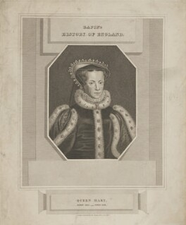 Queen Mary I, published by James and John Cundee, after  Hans Eworth - NPG D41901