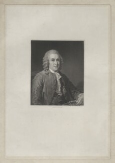 Carl Linnaeus, by Charles Edward Wagstaff, after  Magnus Hallman - NPG D41903