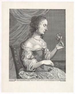 Princess Sophia, Electress of Hanover, printed by Historisches Museum Hannover, after  Johann Schweizer, after  Wallerant Vaillant - NPG D42168