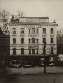 View of H. Walter Barnett's photographic studio, 1 Hyde Park Corner, by H. Walter Barnett - NPG x135096