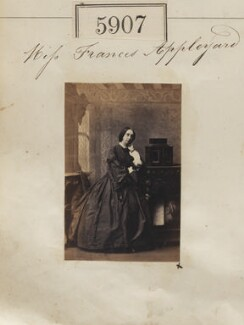 Frances Margaret Appleyard, by Camille Silvy - NPG Ax55862