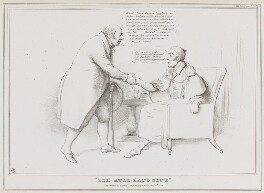 'For Auld lange Syne', by John ('HB') Doyle, published by  Thomas McLean - NPG D41108